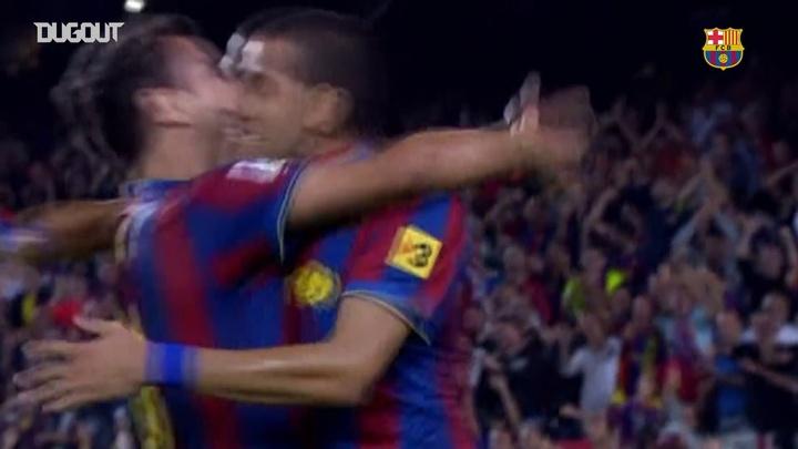 VIDÉO : le coup franc de Dani Alves contre l'Atlético Madrid. Dugout