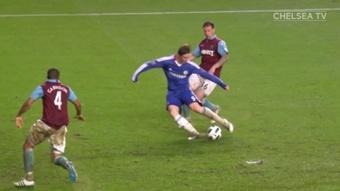Les meilleurs buts de Fernando Torres avec Chelsea. dugout