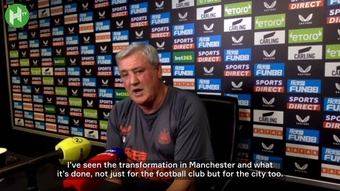 Steve Bruce has spoken ahead of Newcastle's game with Tottenham. DUGOUT