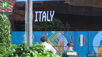 L'Italia vince il suo secondo Europeo. Dugout