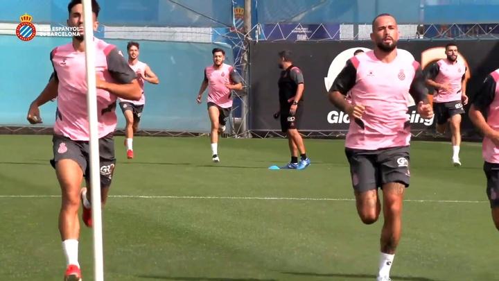 Óscar Gil valoró las dos primeras jornadas del Espanyol. DUGOUT