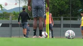 Vasco segue em preparação para confronto com o Coritiba. DUGOUT
