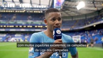 Decisivo, Gabriel Jesus exalta vitória do Manchester City sobre o Chelsea. DUGOUT