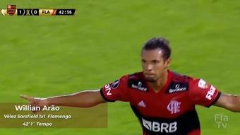 Todos os gols do Flamengo na Libertadores de 2021. DUGOUT