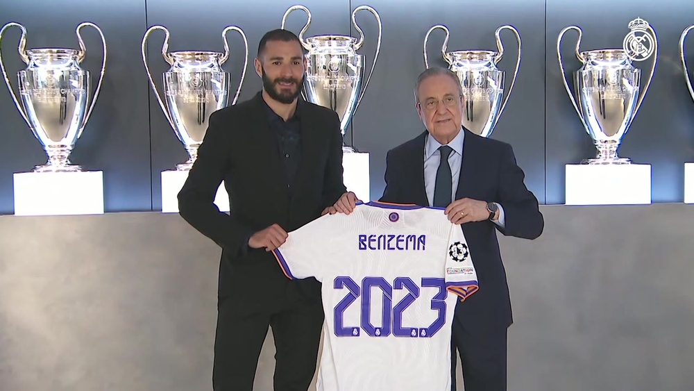 Karim Benzema has extended his Real Madrid contract. DUGOUT