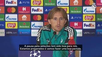 Luka Modric revela acompanhar Shakhtar Donetsk. DUGOUT
