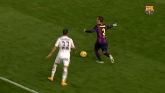 VÍDEO: los mejores goles de falta de Grimaldo en el Barça. DUGOUT