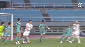 Ansan Greeners defeated Gyeongnam 3-1 in a K-League 2 clash. DUGOUT