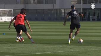 El Real Madrid se prepara para el 'Clásico'. DUGOUT