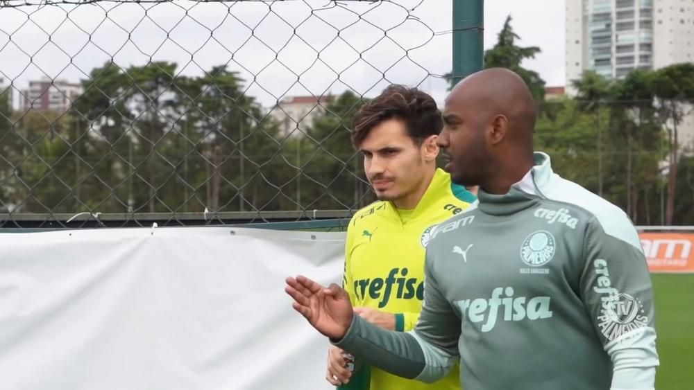 Palmeiras encerra preparação e viaja para encarar o Bahia em Salvador. DUGOUT