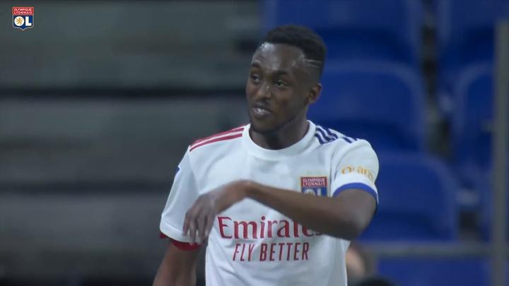 Les buts de Tino Kadewere contre Saint-Etienne. DUGOUT