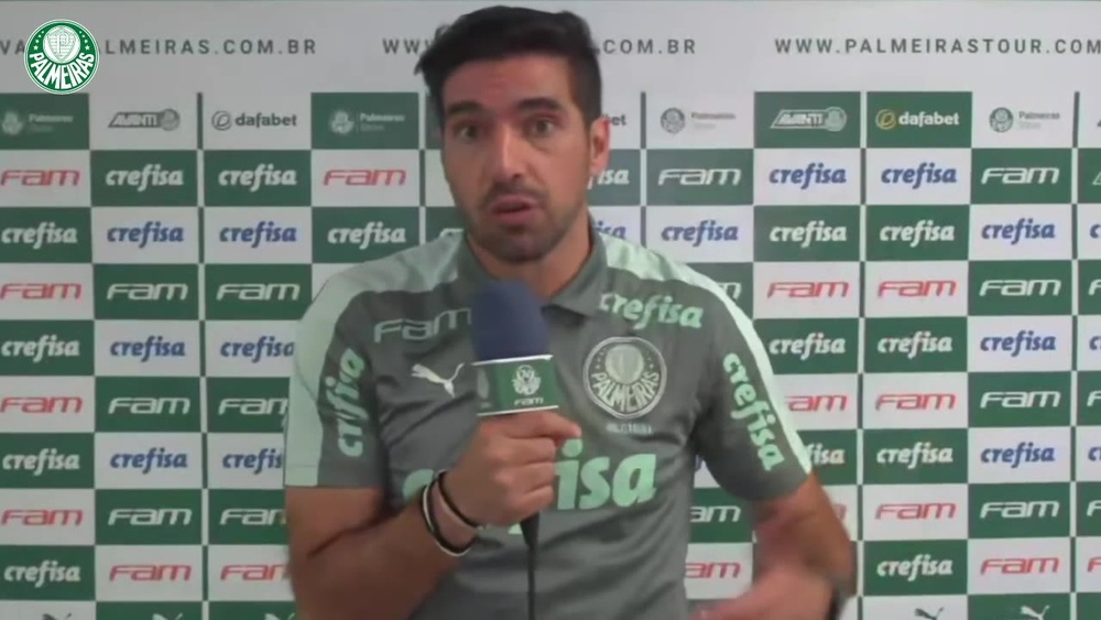 Abel Ferreira elogia Rony após atuação como lateral. DUGOUT
