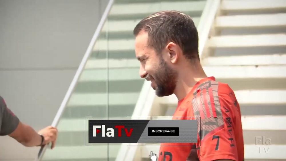 Flamengo encerra preparação e embarca para duelo com o América-MG. DUGOUT