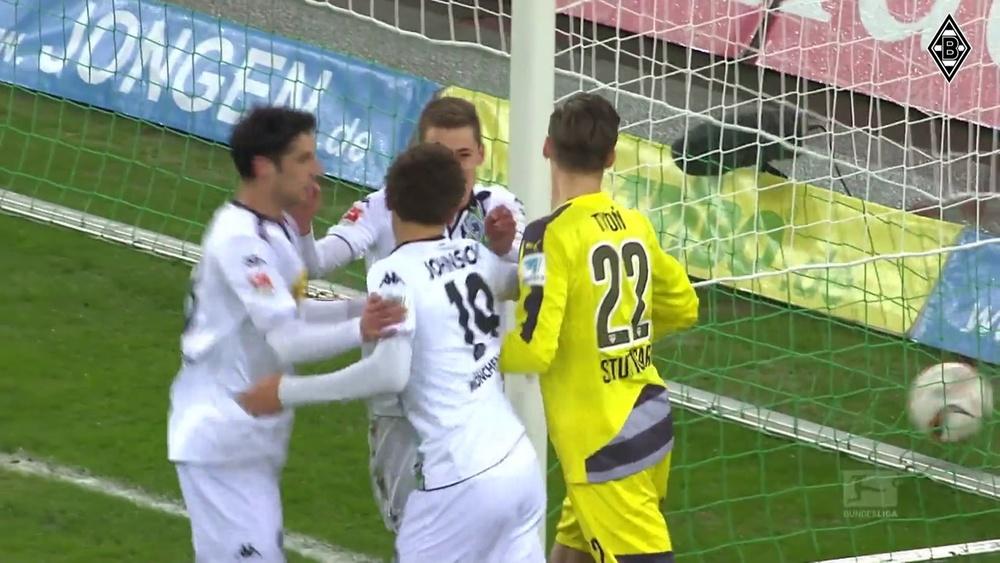 Melhores momentos de Thorgan Hazard pelo Borussia Mönchengladbach. DUGOUT