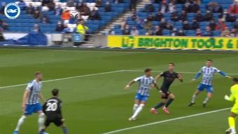 VÍDEO: así fue la remontada del Brighton al City en la 2020-21. Dugout