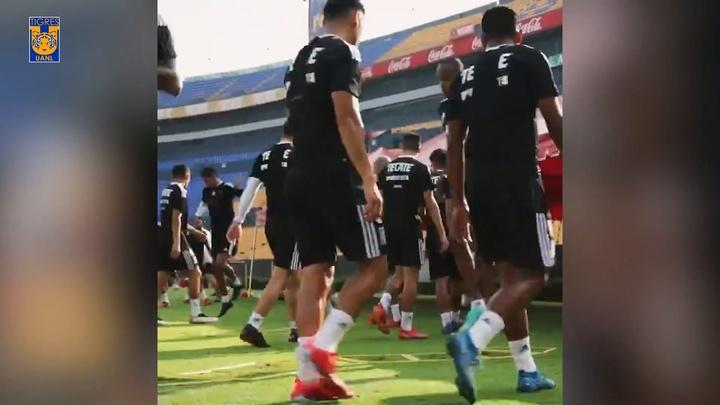 VÍDEO: Gignac y Thauvin ya sudan de nuevo con Tigres. DUGOUT