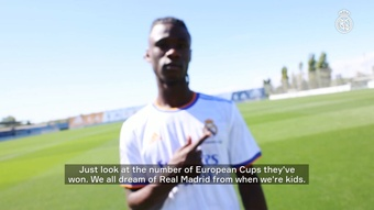 Eduardo Camavinga was interviewed by Real Madrid's official media channels. DUGOUT