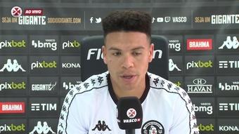 Marquinhos Gabriel fala sobre jogo do Vasco contra o Náutico. DUGOUT