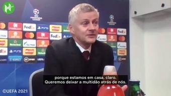 Solskjær elogia posicionamento e atuação de Cristiano Ronaldo. DUGOUT