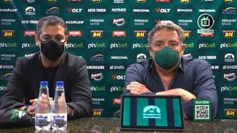 Marquinhos Santos vê 'método de trabalho parecido' com o de Mancini.