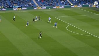 Foden marcó un golazo contra el Brighton. DUGOUT