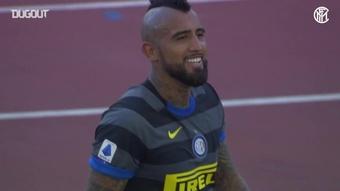I migliori momenti di Vidal contro la Lazio.Dugout
