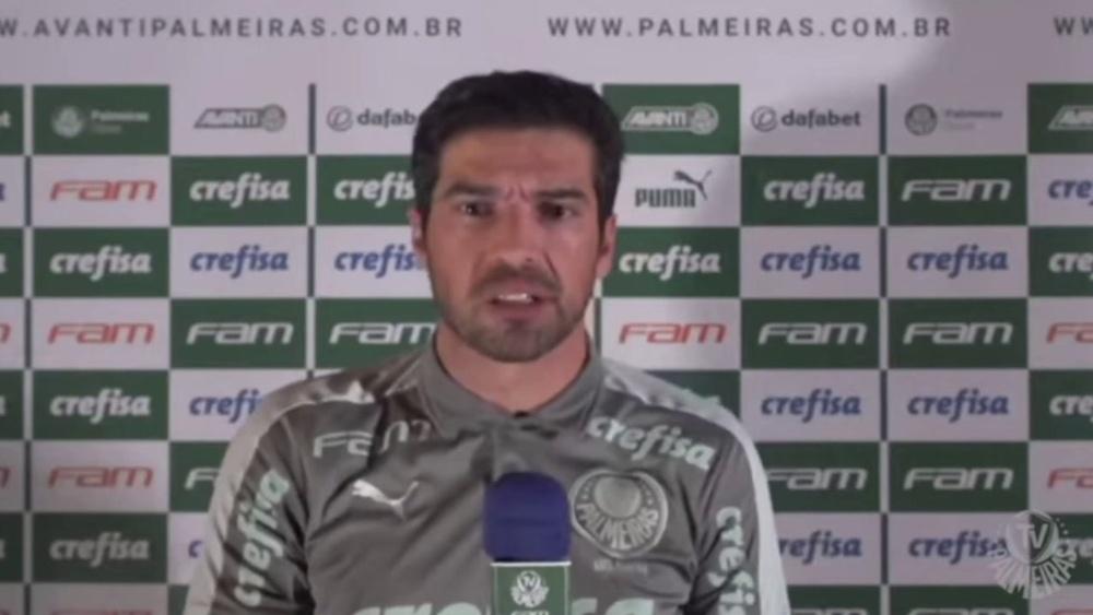 Abel Ferreira reclama da arbitragem. DUGOUT