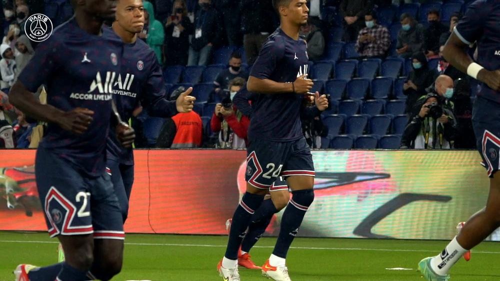 Il dietro le quinte della vittoria del PSG contro il Lyon. Dugout