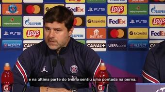 Pochettino falou da ausência de Neymar contra o RB Leipzig. DUGOUT