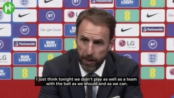 Gareth Southgate explained why he took off Harry Kane. AFP