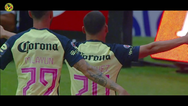 Los mejores goles de Richard Sánchez en el América. Captura/Dugout