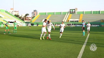 Veja os gols da vitória do Palmeiras por 2 a 0 diante da Chapecoense. DUGOUT