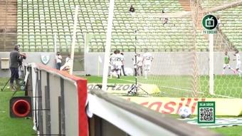 Os gols da vitória do América-MG sobre o Athletico-PR no Independência. DUGOUT