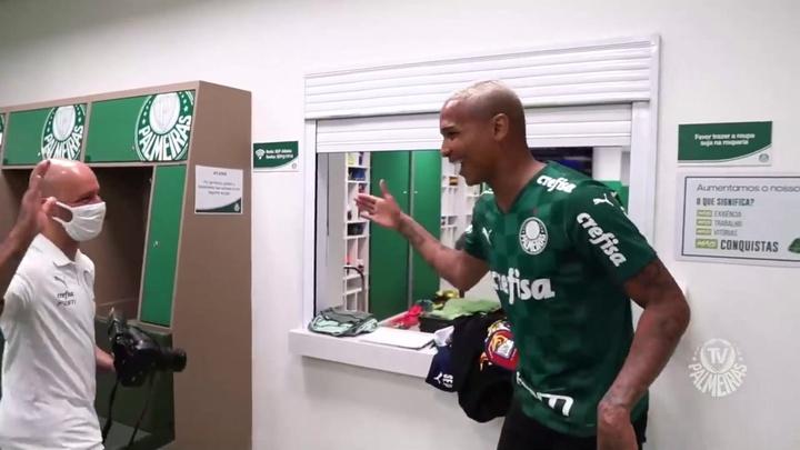 Confira como foi o retorno de Deyverson ao Palmeiras. DUGOUT