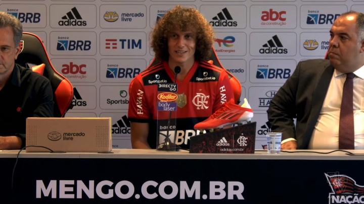 David Luiz diz que desafio o motivou a fechar com Flamengo. DUGOUT