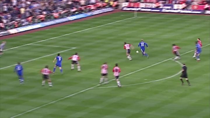 Les meilleurs buts de Chelsea contre Southampton. Dugout.