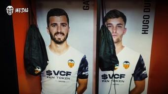El Valencia remontó para empatar un 0-2. Dugout
