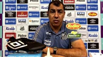 Carille não vê pressão maior após derrota para o Atlético-MG. DUGOUT