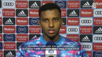 Rodrygo valoró el empate ante Osasuna. Captura/Dugout/RealMadrid