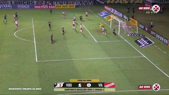 Vasco beat Vila Nova at São Januário. DUGOUT