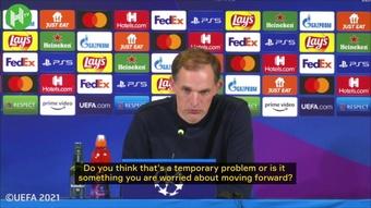 Thomas Tuchel spoke after Chelsea were beaten once again. DUGOUT