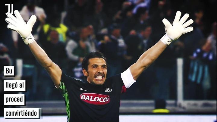 Buffon, leyenda de la Juventus. DUGOUT