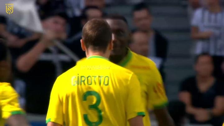 Andrei Girotto marca em vitória do Nantes sobre o Angers. DUGOUT
