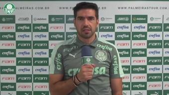 Técnico do Palmeiras falou após empate sem gols com o Bahia. DUGOUT