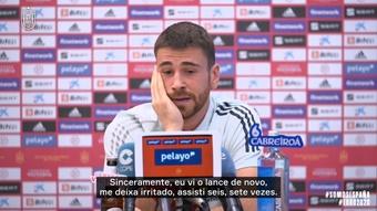 Unai Simón explica erro contra a Croácia. DUGOUT