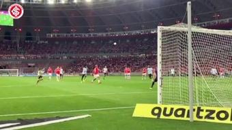 Gols da vitória do Inter sobre o América-MG no Beira-Rio