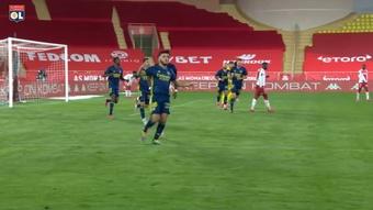 Rayan Cherki got the winner for 10 man Lyon. DUGOUT