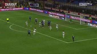 L'iconico gol di Maicon contro la Juventus. Dugout