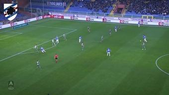 Fabio Quagliarella has scored some great goals v Napoli. DUGOUT
