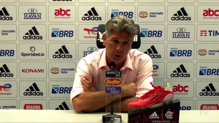 Renato Gaúcho descarta usar David Luiz no próximo jogo. DUGOUT